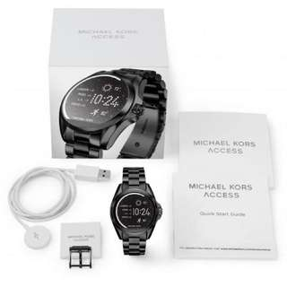 Michael Kors MKT5005 45mm Black smartwatch