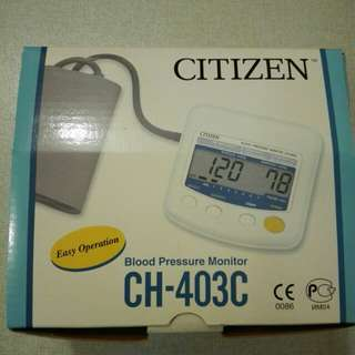 Citizen 血壓計