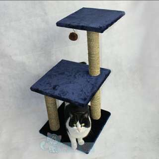(Po)Cat Scratch Post