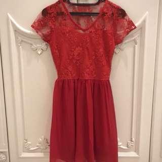 PRELOVED: Monaco Red Dress