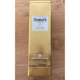 Dewar's Scotch Aged 15 Years Box