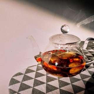 牛蒡枸杞茶 < 1. 細袋裝 - 價格$30 (內附5個茶包) > 、  < 2. 大袋裝 - 價格$50 (內附10個茶包) >