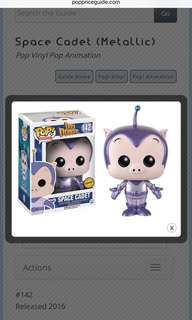Funko Pop Space Cadet Chase