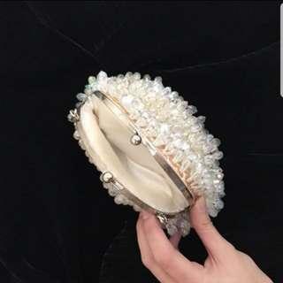 Clutch - Tas  pesta pearl.diamond