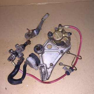 CB400SFverS | BrakeSet | Rear