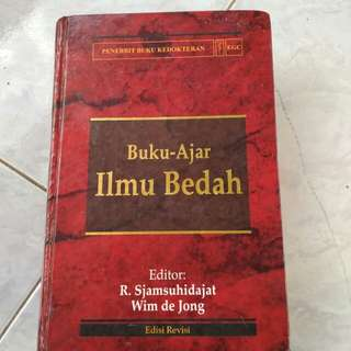 Buku kedokteran Ilmu Bedah