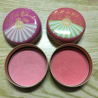 Majolica Majorca Blushes in Pink and Coral