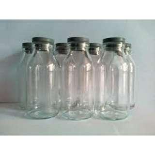 Botol Kaca Penyimpan ASI isi 6 botol