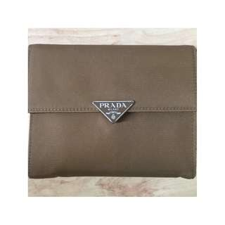 Authentic Prada Tessuto Enamel Wallet