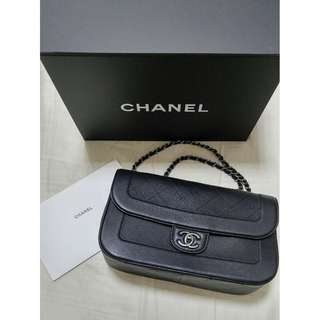 ☆ CHANEL 32cm 牛皮 Flap Bag  --- 100% Real & 100% New ( Full Set ) ☆