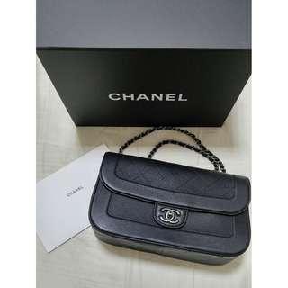 ☆ CHANEL 32cm 牛皮 Flap Bag  --- 100% Real & 100% New ( Full Set ) ☆