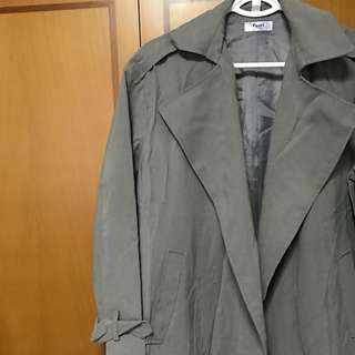 BN Korean Stylish Outer Coat In Grey (Imported, Not Avail In SG!)