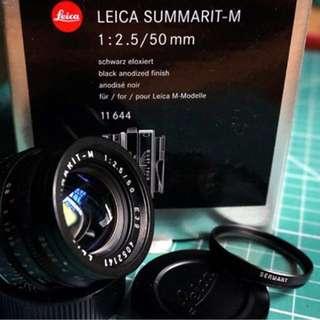 Leica 50mm f2.5 Summarit -M 6 Bit Coded