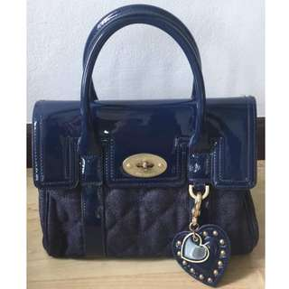 Weekend Promo: Authentic Mulberry For Target Quilted Denim Bag