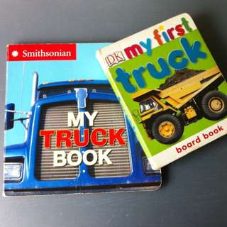 2 For $5 Children Truck Book