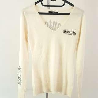 Rock Sweater / lengan panjang