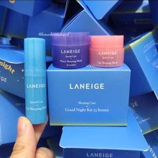 Laneige Good Night Kit (3 pieces)
