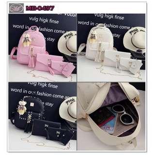 CODE: MB-0497 4in1 Korean Backpack