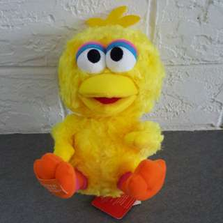 "Sesame Street Big Bird 7"" soft toy"