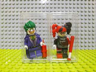 Minifigs Harley Quinn and Joker