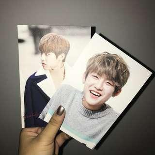 WannaOne Woojin Postcards