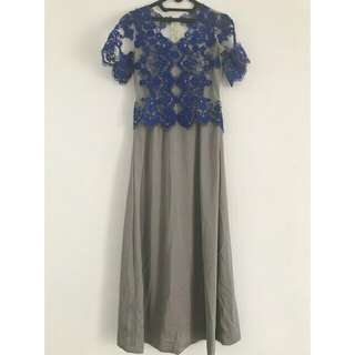 Long Dress Kebaya Modern