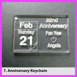 birthday,  anniversary Customized Keychain