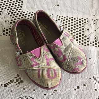 Toms toddlers shoes
