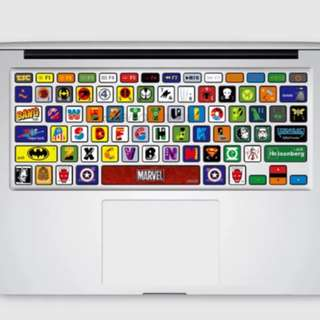 Macbook Keyboard Sticker Protector