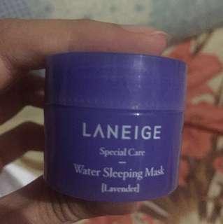 Laneige sleeping mask lavender