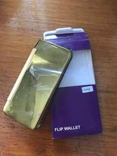 Flip cover samsung S7 Edge, casing S7 edge murah