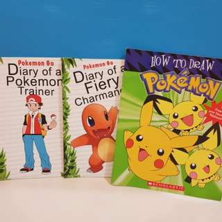 Pokemon books for children