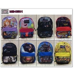 CODE: MB-0501 Jansport Character Backpack