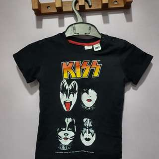 H&M KISS Limited Edition T-shirt (9 - 12 months)