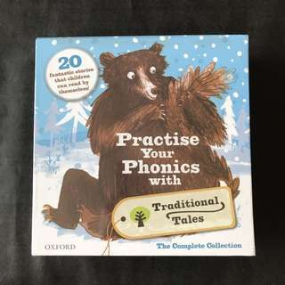 💥NEW- Oxford Practise Your Phonics with Traditional Tales - 21 Books Set - Children Storybooks