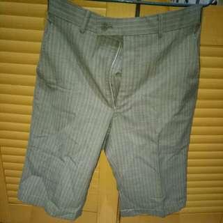 Celana bahan pria grey