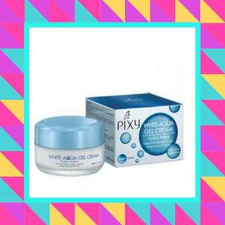 PIXY White-Aqua Gel Cream Hydra Active Natural Whitening Complex Water Based Formula