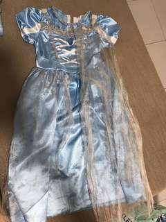 Cinderella dress full with cape