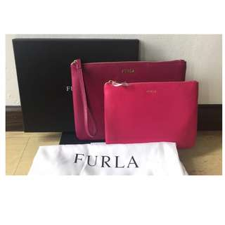 Authentic Furla Royal Envelope Set of 2