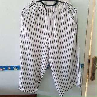 White Stripes Cullotes
