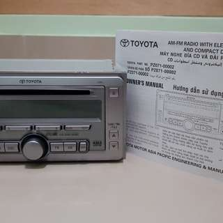 Toyota Original Player - PZ071-00002
