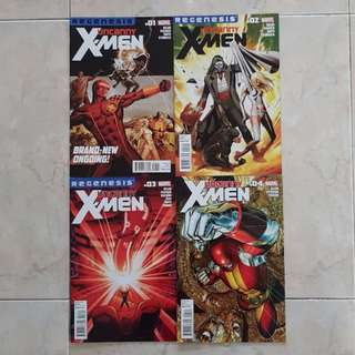 Uncanny X-Men Vol 2 (Marvel Comics 4 Issues; #1 to 4, complete story arc)