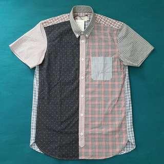 Maison Kitsune Short Sleeve Shirt