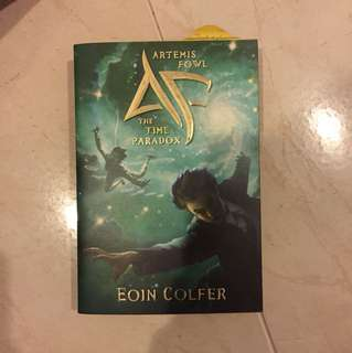 Artemis Fowl The Time Paradoz
