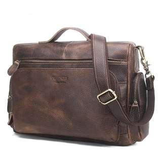 Genuine Leather Bag for Men (PN111)