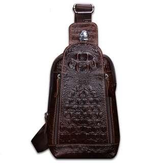Genuine Leather Bag for Men (PN115)