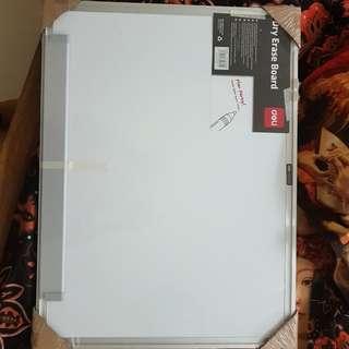White board, dry easy board