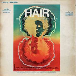 HAIR, Vinyl LP, used, 12-inch original (USA) pressing