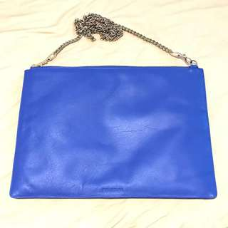 Uk WHISTLES leather bag 皮袋 90% new