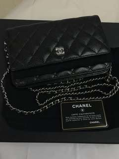 Authentic Chanel Wallet On Chain